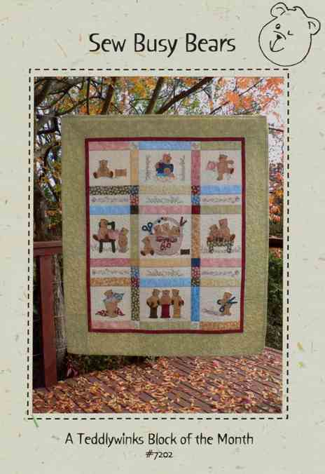 Quilt Kit Sew Busy Bears