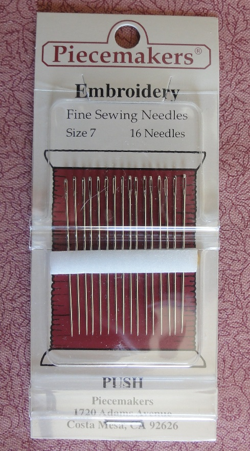 Embroidery Needle